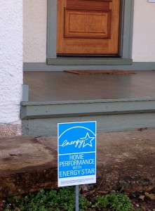 These yard signs help homeowners boast that they are saving energy and money and enjoying healthier homes thanks to LEAP's Home Performance with ENERGY STAR program.