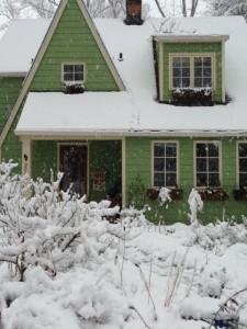 Phipps house snow